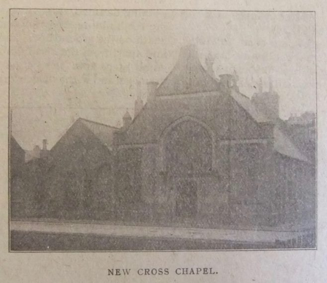 New Cross Primitive Methodist chapel | Christian Messenger 1918/138