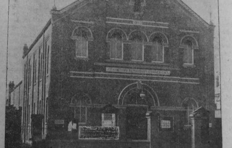 Scunthorpe High Street Primitive Methodist chapel
