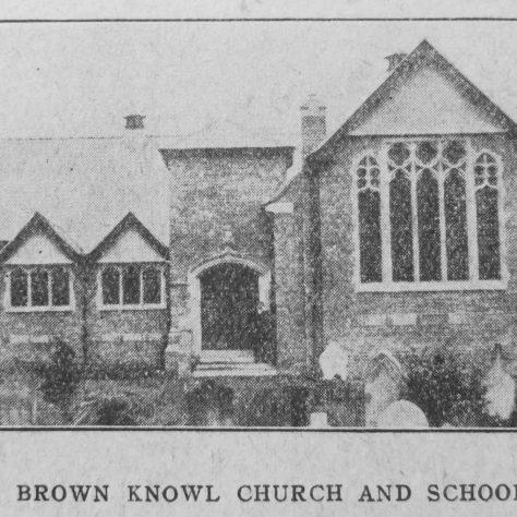 Brown Knowl Primitive Methodist chapel and schools | Christian Messenger 1918/201