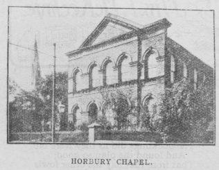 Horbury Primitive Methodist chapel | Christian Messenger 1918/296