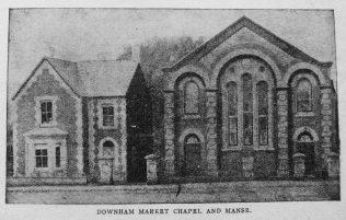 Downham Market chapel and manse | Christian Messenger 1919/43