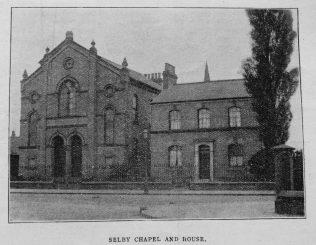 Selby Primitive Methodist chapel | Christian Messenger 1919/104