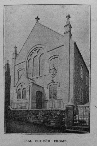 Frome Primitive Methodist chapel | Christian Messenger 1919/140