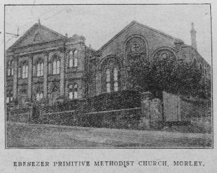 Morley Ebenezer Primitive Methodist chapel | Christian Messenger 1919