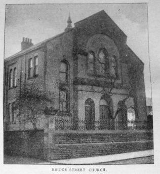 Heywood Bridge Street Primitive Methodist chapel   Christian Messenger 1920/16