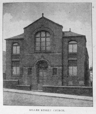 Heywood Miller Street Primitive Methodist chapel   Christian Messenger 1920/16