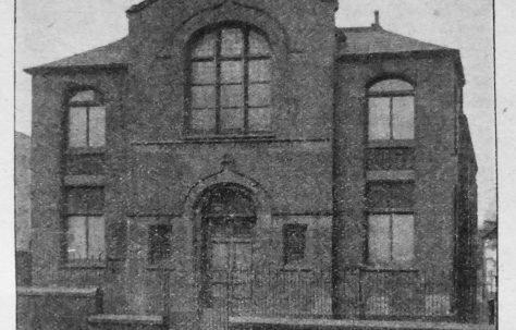 Heywood Miller Street Primitive Methodist chapel