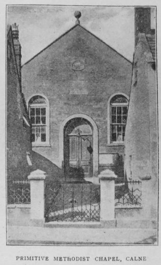 Calne Primitive Methodist chapel | Christian Messenger 1920/44