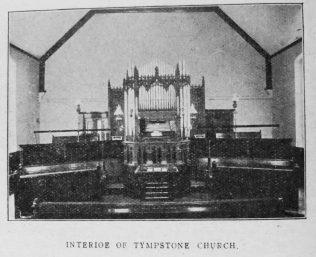 interior of Lympstone Primitive Methodist chapel | Christian Messenger 1920/74