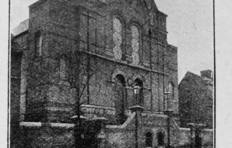 Cambridge The Tabernacle Primitive Methodist chapel