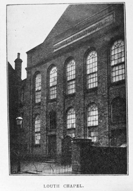 Louth Primitive Methodist chapel   Christian Messenger 1920/144