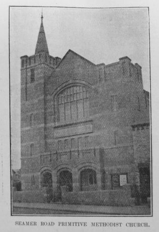 Scarborough Seamer Road Primitive Methodist chapel | Primitive Methodist Magazine 1905/517