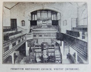 The Centenary of Primitive Methodism in Whitby, Yorkshire