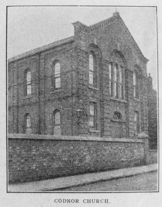 Codnor Primitive Methodist chapel | Christian Messenger 1921/202