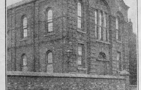 Codnor Primitive Methodist chapels