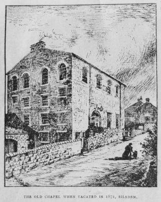 1846 Silsden Primitive Methodist chapel | Christian Messenger 1921/234