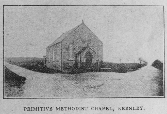 Keenley Primitive Methodist chapel | Christian Messenger 1921/266