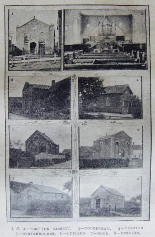 chapels of the Brinkworth circuit ii | Christian Messenger 1922/78