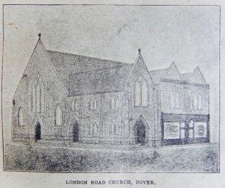 Dover London Road Primitive Methodist chapel   Christian Messenger 1922/113