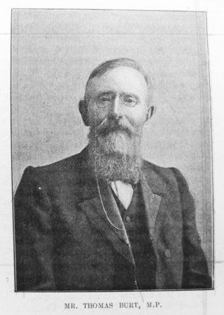 Burt, Thomas M.P. (1837-1922)
