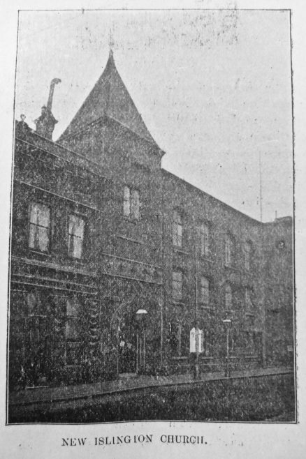 Manchester New Islington Primitive Methodist chapel   Primitive Methodist Magazine 1906/548