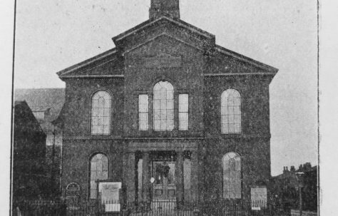 Hulme: Upper Moss Lane Primitive Methodist chapel