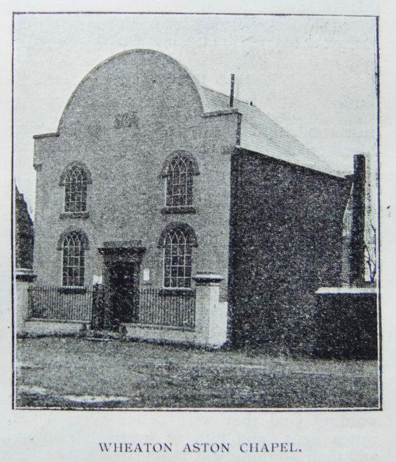 Wheaton Aston Primitive Methodist chapel | Christian Messenger 1904/45