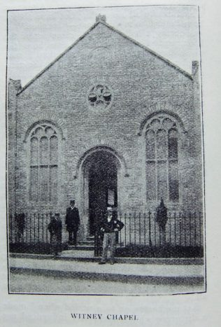 Witney Primitive Methodist chapel | Christian Messenger 1904/242
