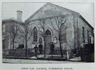 Tunbridge Wells Down Lane Primitive Methodist chapel | Christian Messenger 1904/335