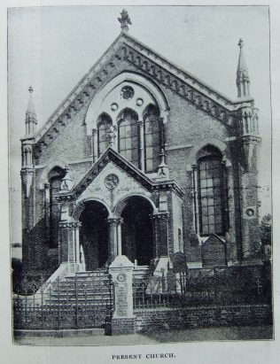 Tunbridge Wells Primitive Methodist chapel   Christian Messenger 1904/335