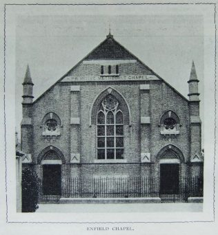 Enfield Primitive Methodist chapel | Christian Messenger 1903/273