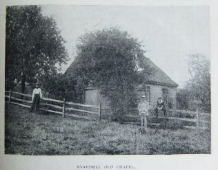 Woodmill 1823 Primitive Methodist chapel | Christian Messenger 1903/328