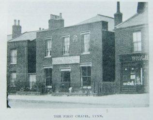 First Kings Lynn  London Road Primitive Methodist chapel | Christian Messenger 1902/66