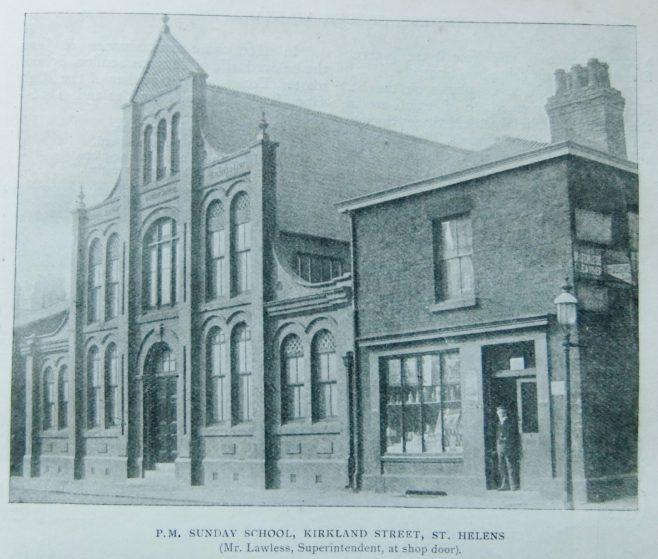 St Helens Kirkland Street Primitive Methodist Sunday school   Christian Messenger 1902/226