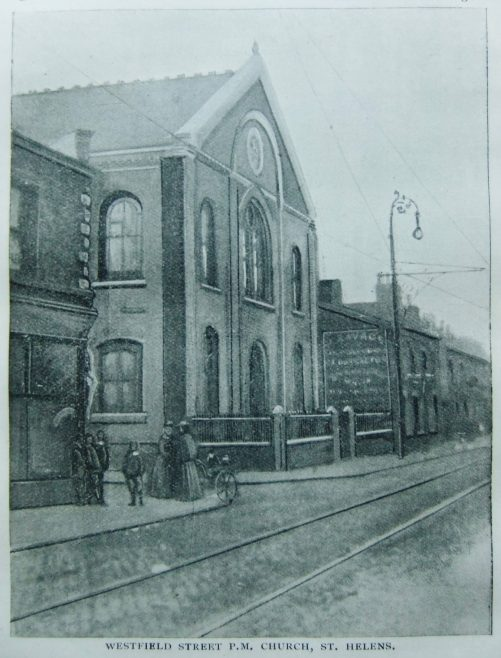 St Helens Westfield Street Primitive Methodist chapel   Christian Messenger 1902/226