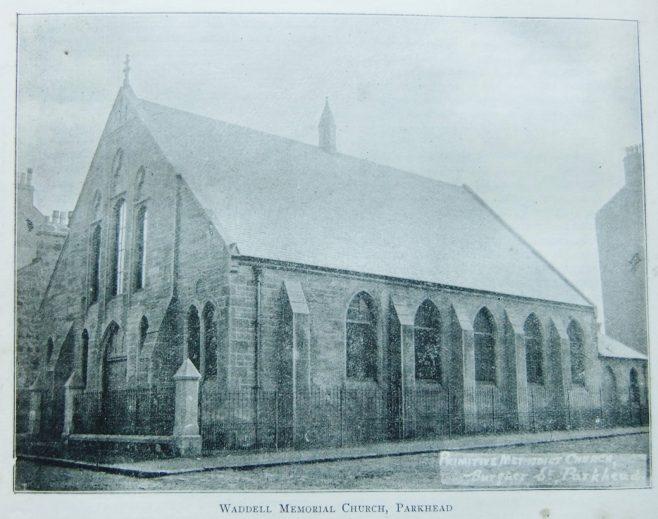 Parkhead Waddell Memorial Primitive Methodist chapel  | Christian Messenger 1902/258