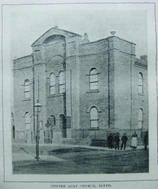 Blyth Cowpen Quay Primitive Methodist chapel | Christian Messenger 1902/290