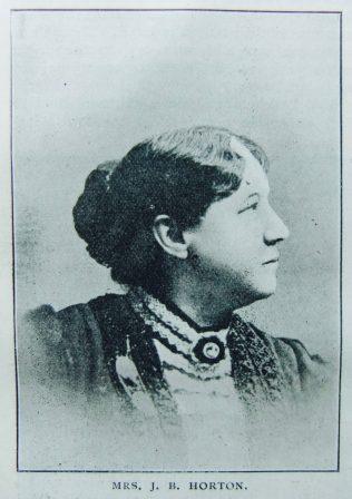 Horton, Josephine Padman (nee Bellamy) 1853-1934