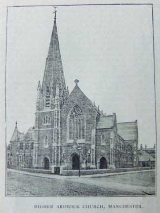 Manchester Higher Ardwick Primitive Methodist Church
