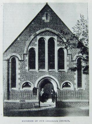 Greenock Primitive Methodist chapel  | Christian Messenger 1901/341