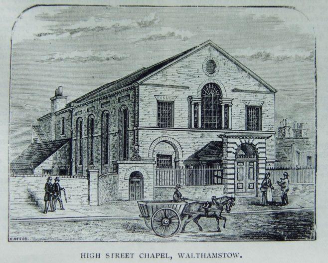 Walthamstow High Street Primitive Methodist chapel   Christian Messenger 1900/341