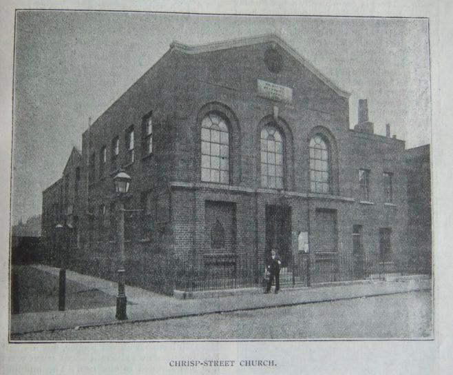 Chrisp Street Primitive Methodist chapel | Christian Messenger 1899/246