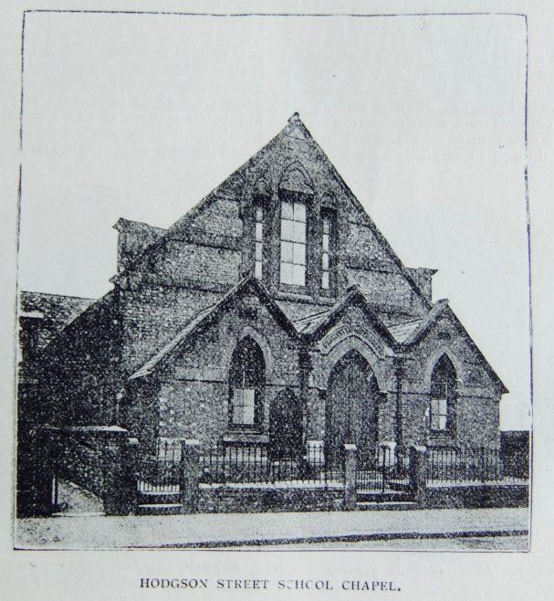 Sheffield Hodgson Street Primitive Methodist school chapel | Christian Messenger 1899/273