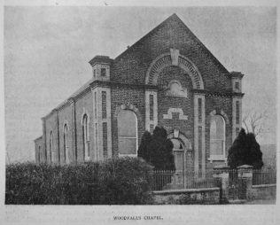 Woodfalls Primitive Methodist chapel | Primitive Methodist Magazine 1901/350