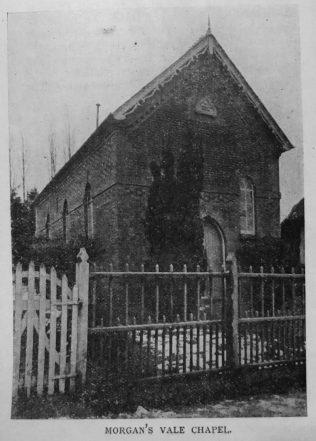Morgan's Vale Primitive Methodist chapel | Primitive Methodist Magazine 1901/350
