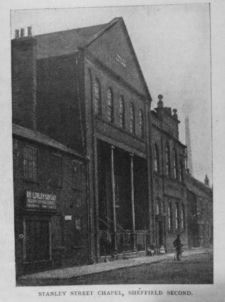 Sheffield Stanley Street  Primitive Methodist chapel | Primitive Methodist Magazine 1901/413