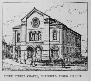 Sheffield Petre Street  Primitive Methodist chapel | Primitive Methodist Magazine 1901/413