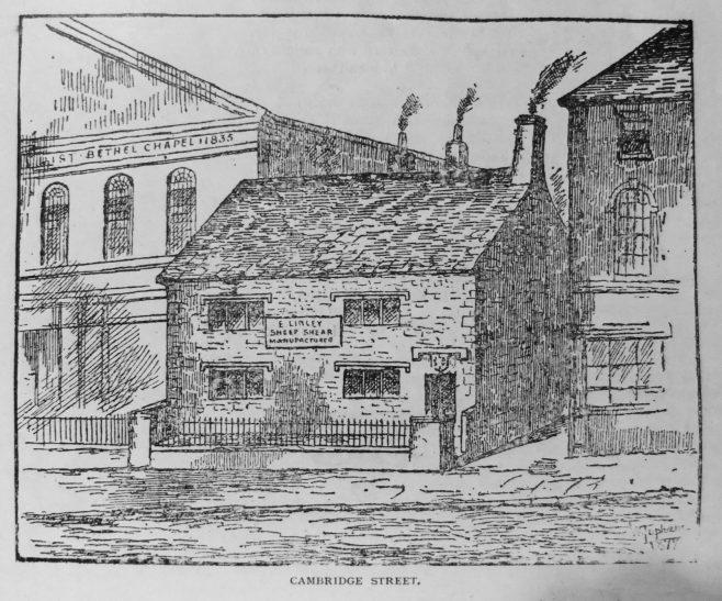 Sheffield Cambridge Street | Primitive Methodist Magazine 1901/413