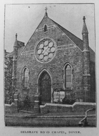 Dover Belgrave Road Primitive Methodist chapel | Primitive Methodist Magazine 1901/900