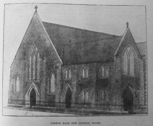 Dover London Road Primitive Methodist chapel | Primitive Methodist Magazine 1901/900